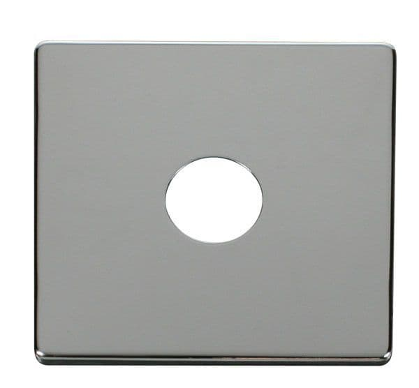 Click Definity SCP221CH 1 Gang Toggle Switch Cover Plate - Chrome