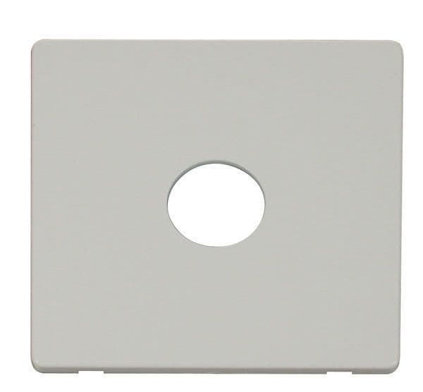 Click Definity SCP221PW 1 Gang Toggle Switch Cover Plate - White