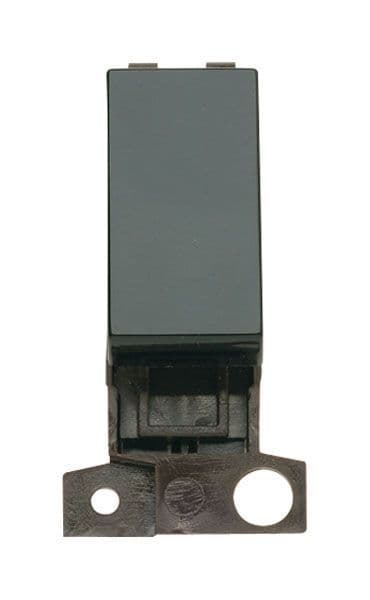 Click Mini Grid MD004BK 2 Way 10A Retractive Switch - Black