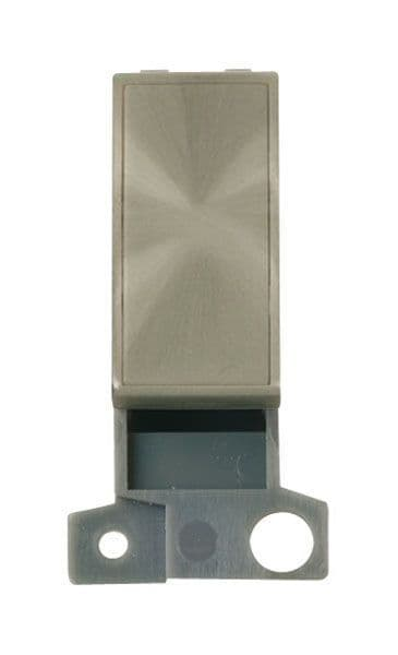 Click Mini Grid MD008BS Blank Ingot Module - Brushed Stainless Steel