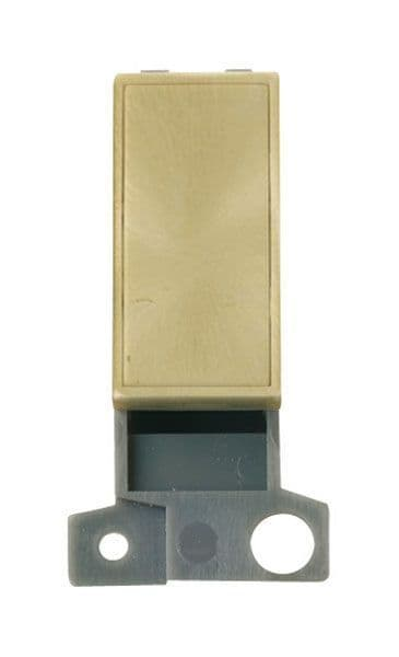 Click Mini Grid MD008SB Blank Ingot Module - Satin Brass
