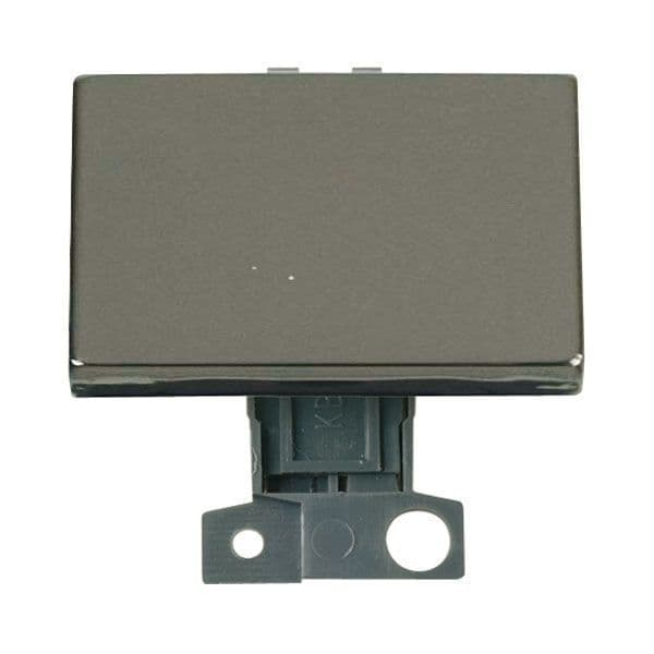 Click Mini Grid MD009BN 2 Way Ingot 10AX Paddle Switch - Black Nickel