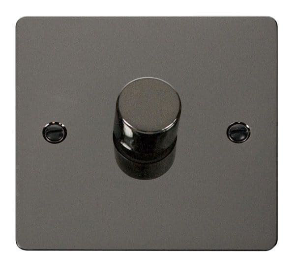 Click Scolmore FPBN140 1 Gang 2 Way 400Va Dimmer Switch