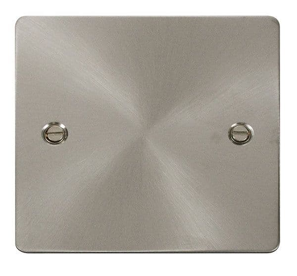 Click Scolmore FPBS060 1 Gang Blank Plate