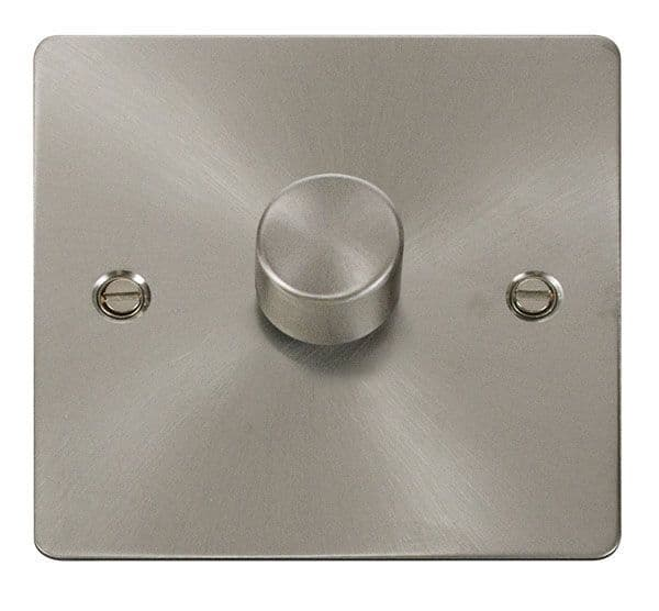 Click Scolmore FPBS140 1 Gang 2 Way 400Va Dimmer Switch
