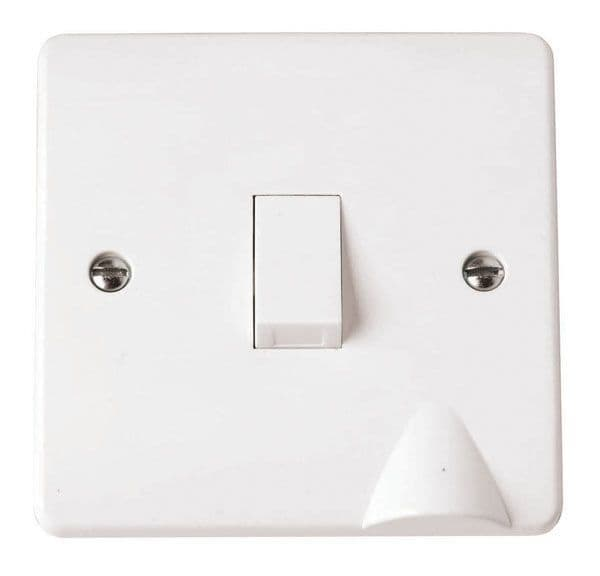 Click Scolmore MODE CMA022 20A DP Switch with Flex Outlet