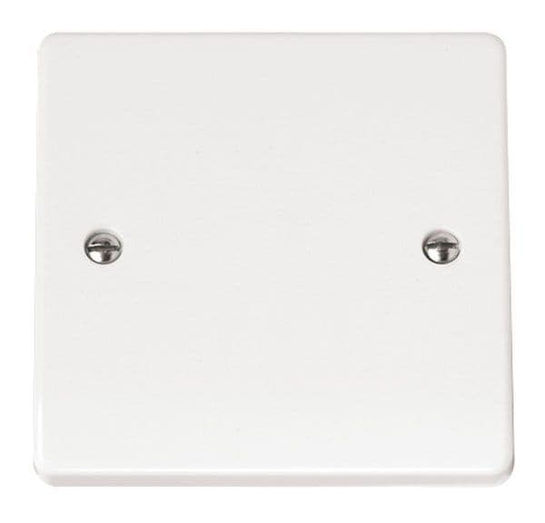 Click Scolmore MODE CMA060 1 Gang Blank Plate