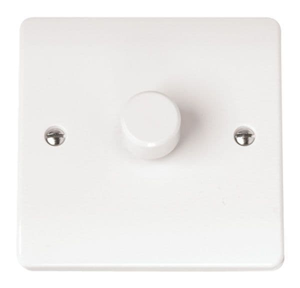 Click Scolmore MODE CMA140 1 Gang 2 Way 400Va Dimmer Switch