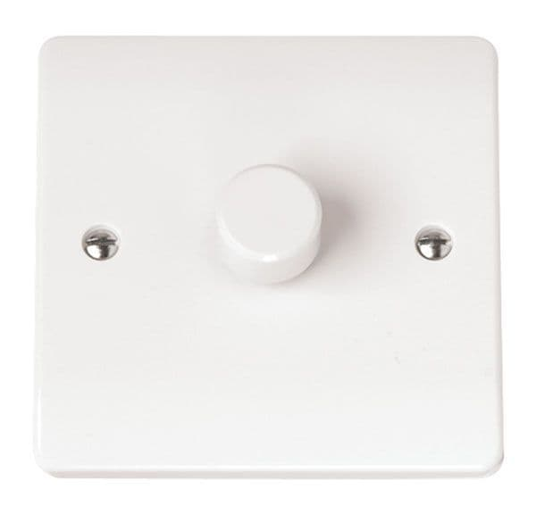 Click Scolmore MODE CMA145 1 Gang 2 Way 250Va Dimmer Switch