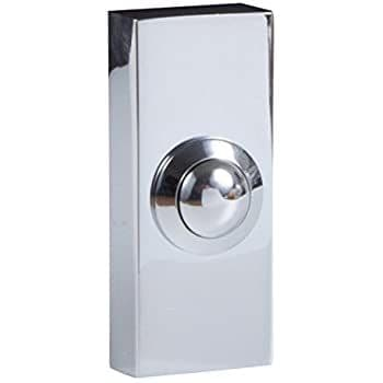 Deta C3506CH Wired Door Bell Push (Non illuminated) - Polished Chrome