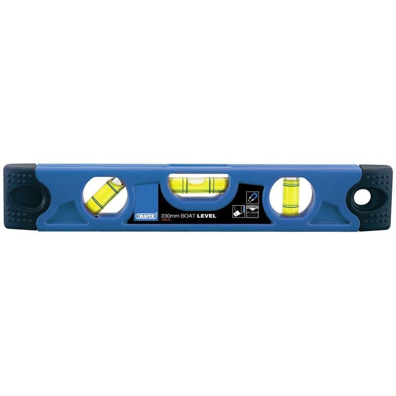 Draper Tools 230mm Torpedo Level With Magnetic Base 79579