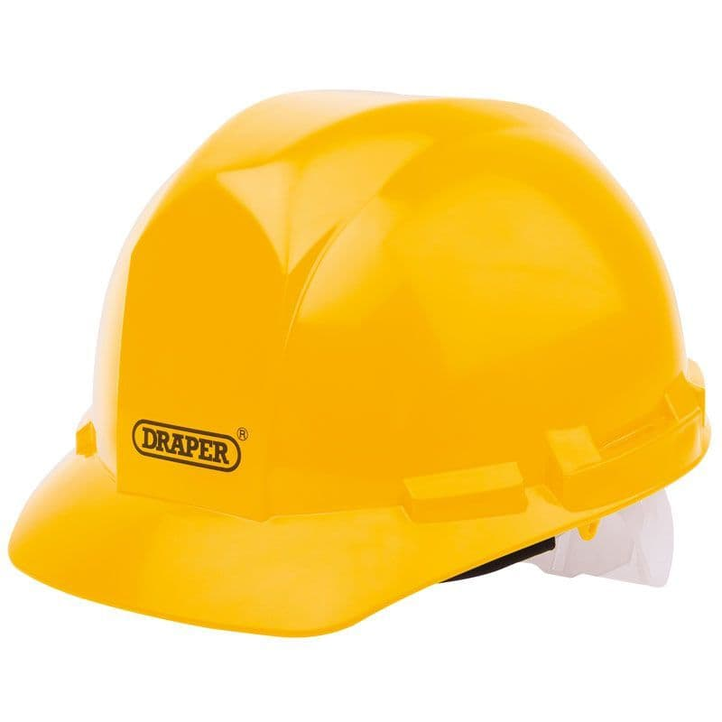 Draper Tools Yellow Safety Helmet 51138