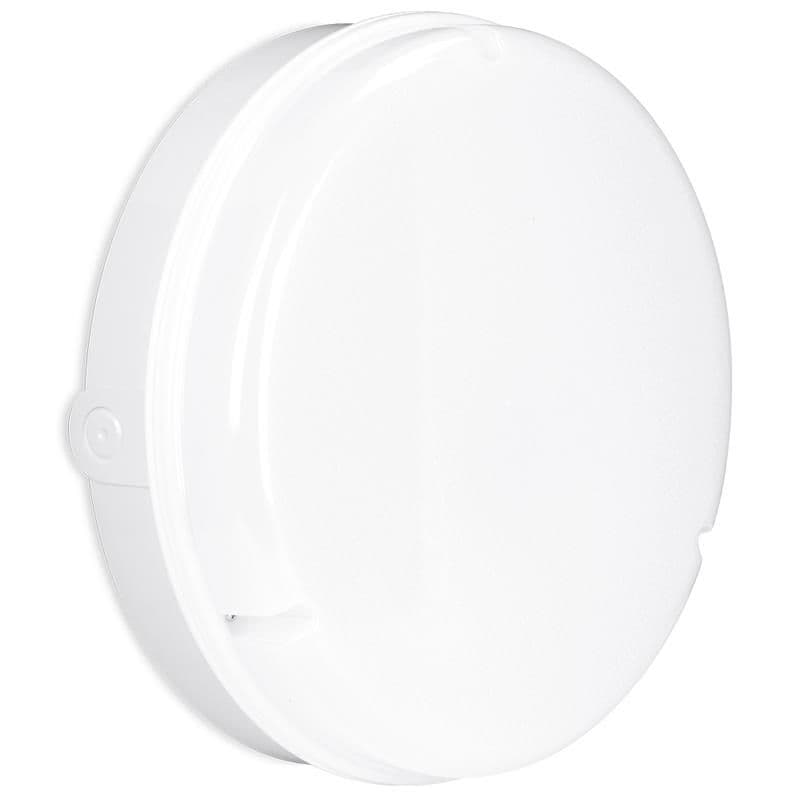 Enlite EN-BH18RW/40EM 240V 20W IP65 LED Round Bulkhead White 4000K Emergency