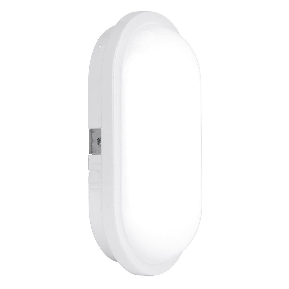 Enlite EN-BH215/40 240V 15W IP65 Polycarbonate Oval LED Bulkhead White 4000K