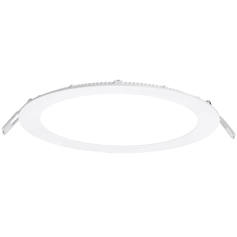 Enlite EN-PL18B/40 Slim-Fit 18W LED Low Profile Downlight Non Dimmable 4000K 1200lm White 8 Inch