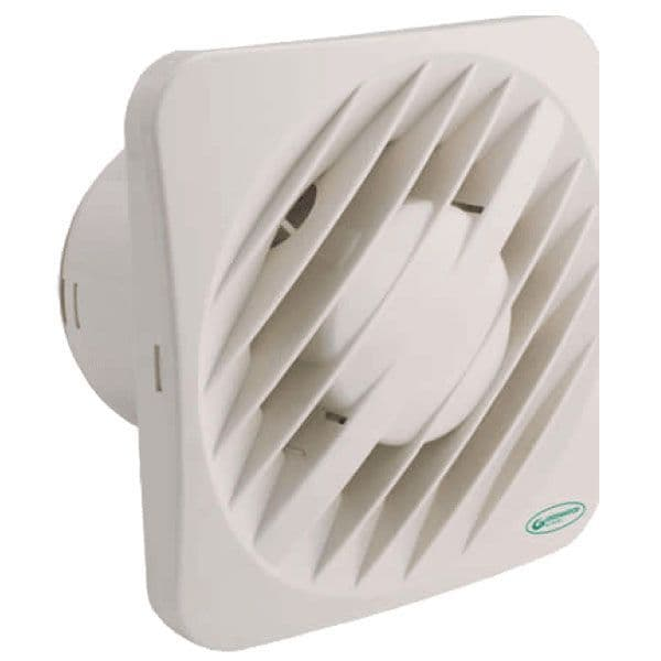 """Greenwood AXS100TR 4"""" Extractor Fan with Overrun Timer"""