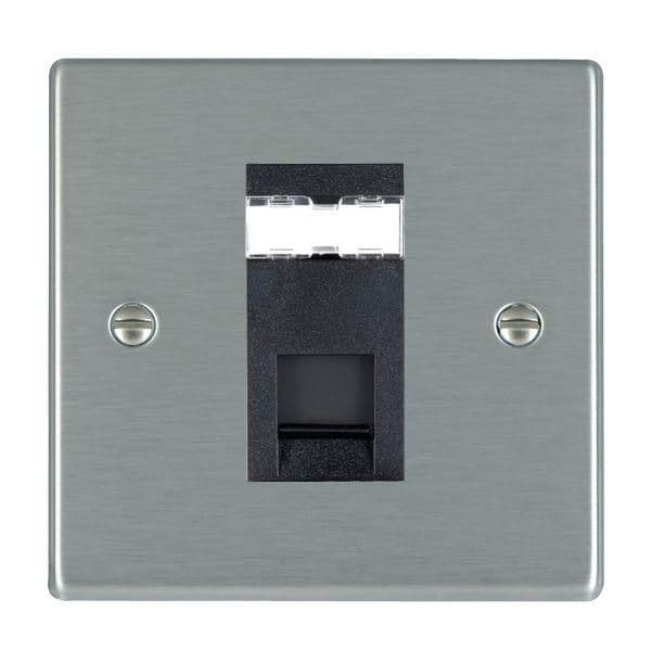 Hartland 74J45-B and 74R45-W Stainless Steel Data Socket