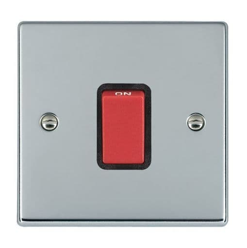 Hartland 7745B and 7745W Bright Chrome 45a DP Switch