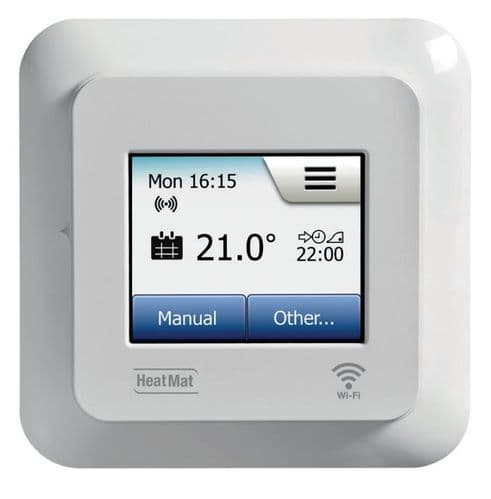 Heat Mat NGTouch WIFI Electronic Touchscreen Thermostat & Timer For Underfloor Heating NGT-2.0-WIFI