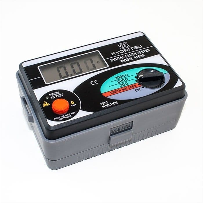 Kewtech KEW4105A Digital Earth Resistance Tester With Soft Case