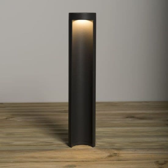 KSR Lighting KSR1906 Calanda 8.5w 3000K LED 450mm Bollard Anthracite