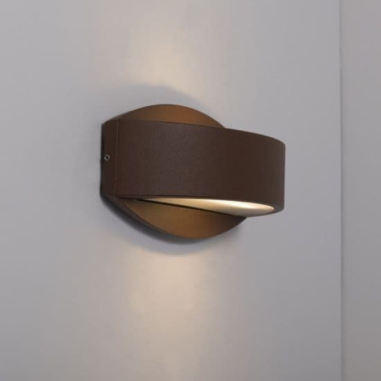 KSR Lighting KSR4125 Meridian 2.2 15w 3000K LED Wall Light Bronze