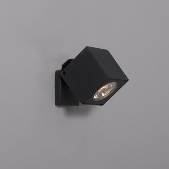 KSR Lighting KSR4130 Kubo 6w 3000K LED Spotlight Anthracite