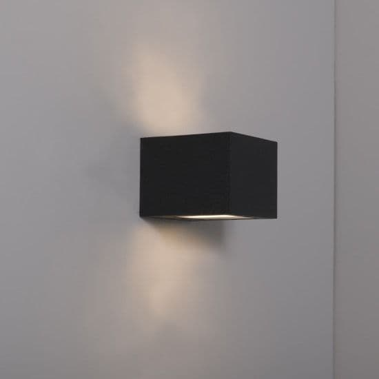 KSR Lighting KSR4140 Ronda 8.5w 3000K LED Wall Light Anthracite