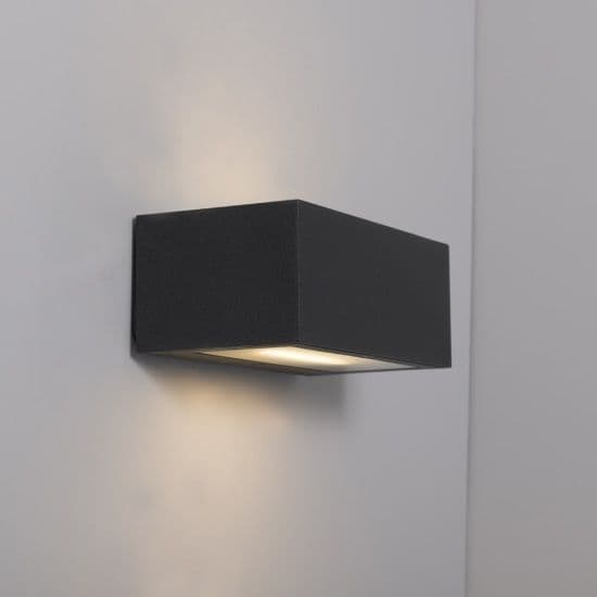 KSR Lighting KSR4142 Ronda 18w 3000K LED Wall Light Anthracite