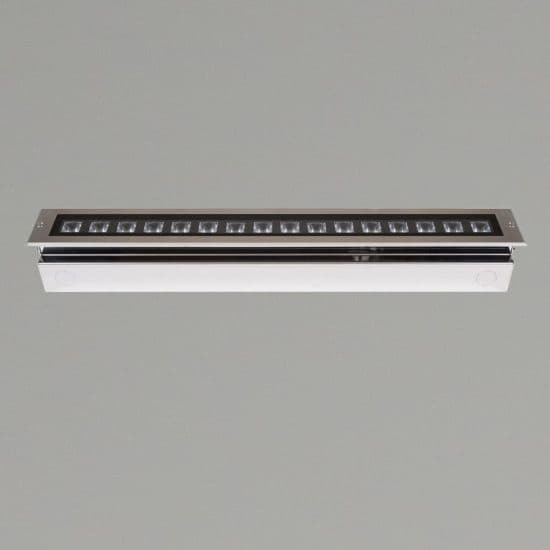 KSR Lighting KSR4178 Matrix 13w 3000K LED 340mm recessed Ground Light Stainless Steel