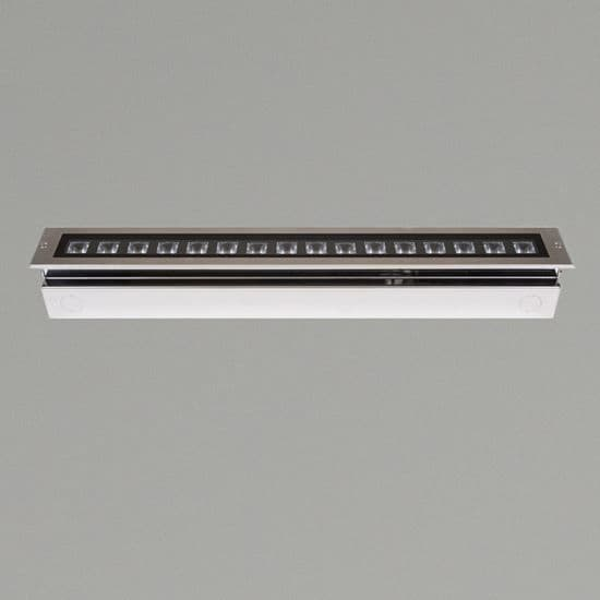 KSR Lighting KSR4185 Matrix 32w 4000K LED 1200mm recessed Ground Light Stainless Steel