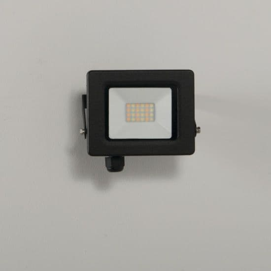 KSR Lighting KSR5280BLK Siena CCT 10w LED IP65 Floodlight Black