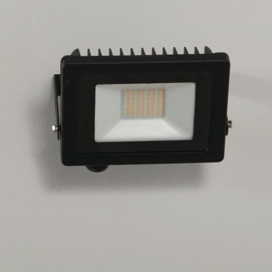 KSR Lighting KSR5282BLK  Siena CCT 20w LED IP65 Floodlight Black