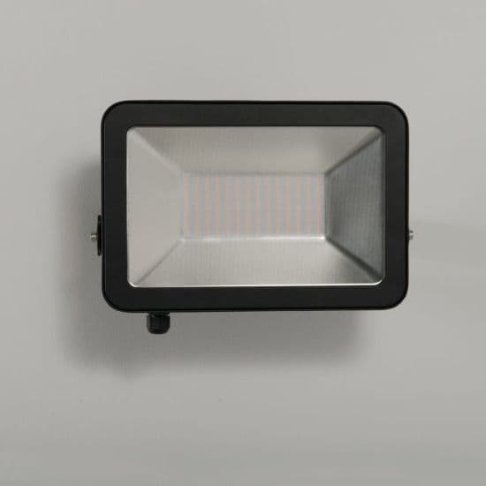 KSR Lighting KSR5288BLK Siena 100W 3000K LED IP65 Floodlight Black