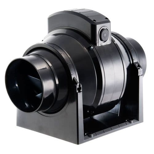 Manrose MF100T In-Line Mixed Flow Extractor Fan with Timer