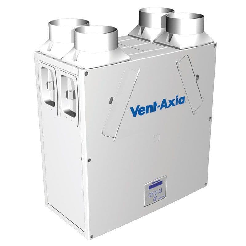 Vent Axia 408451 Lo Carbon Sentinel Kinetic High Flow MVHR Heat Recovery Unit LH Flow