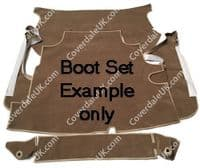 Aston Martin DB6 MkII 1969 to 1971 Boot Carpet Set - Blenheim Range