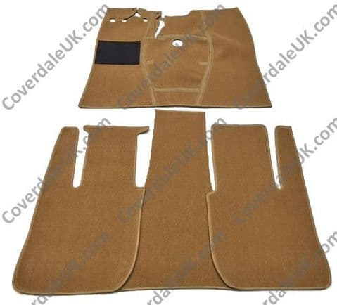 Ford Anglia EO4A 1939 to 1948 Carpet Set - Wessex Wool Range