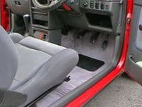 Ford Escort Mk IV 4 Door 1986 to 1992 Carpet Set - Kensington Luxury Wool Range