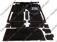 Mercedes 350SL Sports 1971 to 1980 107 Series Carpet Set - Kensington Luxury Wool Range