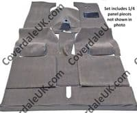 Rover P3 60/75 Full Felted/webbing as original 1948 to 1949 Carpet Set - Blenheim Range