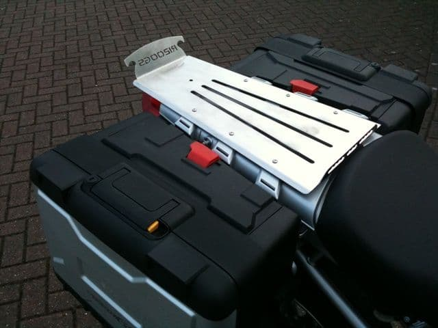 BMW R1200GS `Extra 70mm` Extended Rear Seat Mounted Rack for models up to 2006
