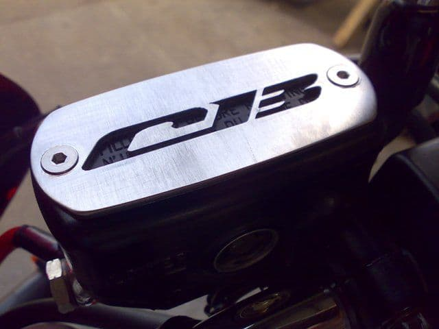 Honda CB1300 Reservoir Cover