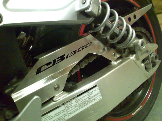 Honda CB1300 Stainless Chain Guard