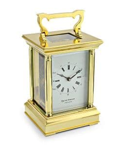 David Peterson Anglais 8 day Mechanical Carriage Clock. Y/DP/AG