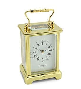 DP/OB - David Peterson Obis Style 8-day Mechanical Carriage Clock.