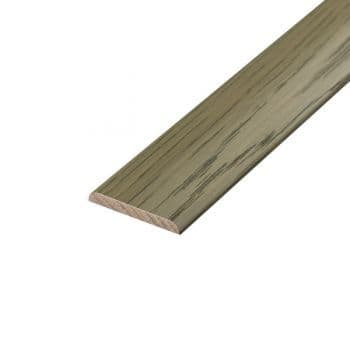 90cm Ash Grey Solid Wood Flat Bar  UK19021 Solid Wood Cover Plate Plate 90cm