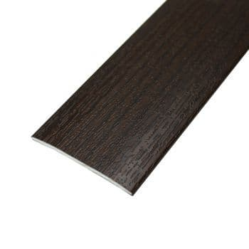 90cm Teak Wire Brushed Stained AD5 Door Bar 37mm Self Adhesive 90cm