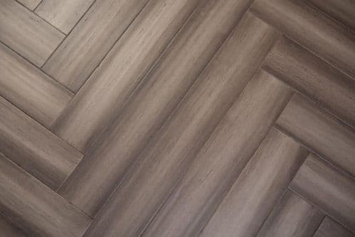 GREY HERRINGBONE BAMBOO SAMPLE