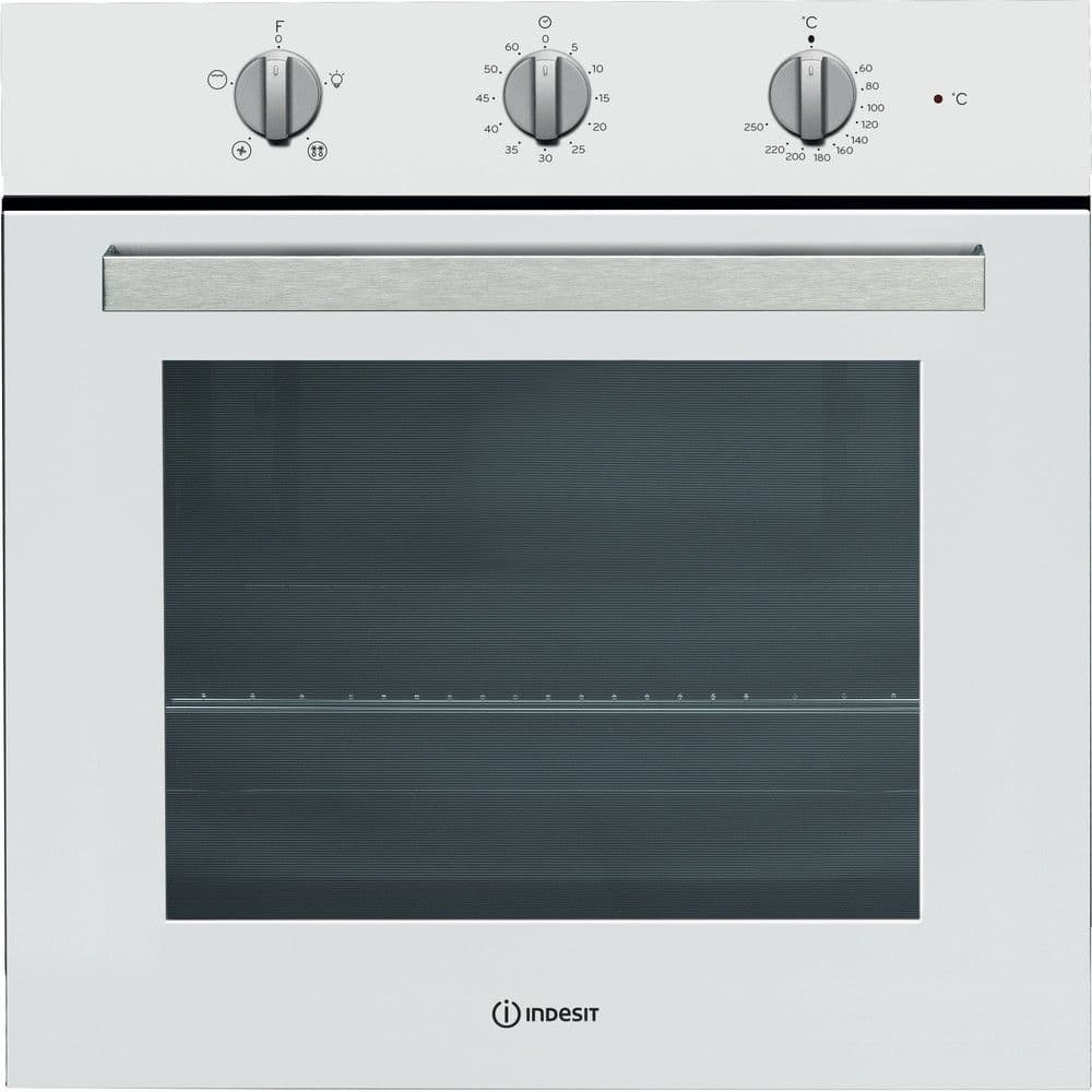 Indesit IFW6330WH Single Oven In White